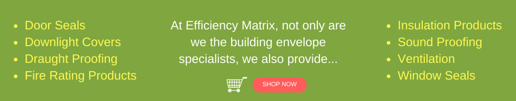 Efficiency Matrix Banner for Webshop