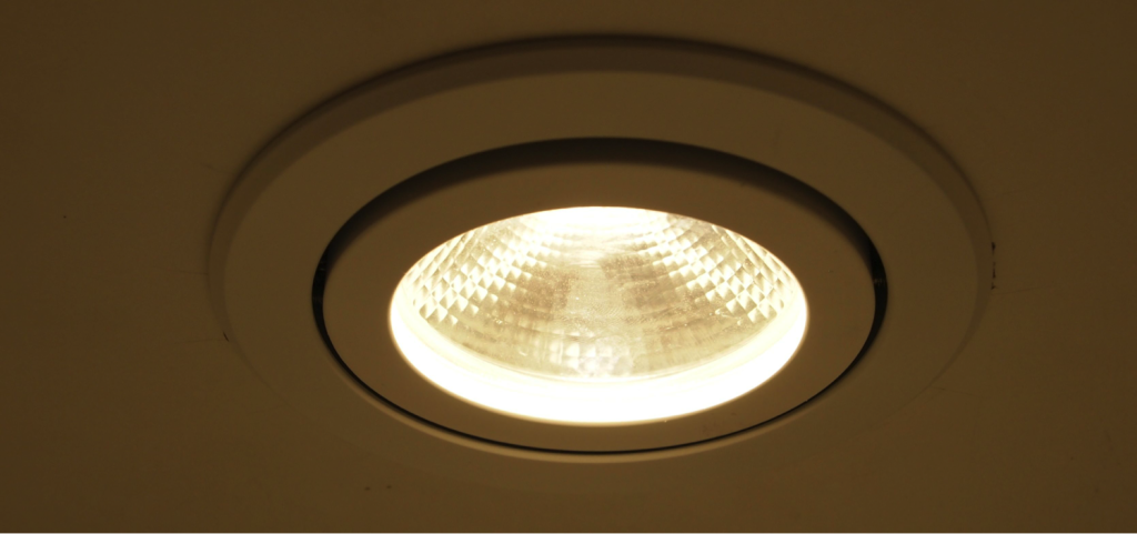 Gimble Downlight Fitting. 90mm cut out