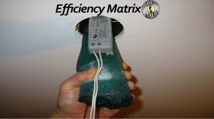 Downlight Covers by Efficiency Matrix