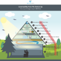 Pyramid for sustainability