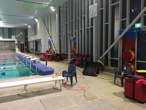 Aquatic Centre Air Tightness testing