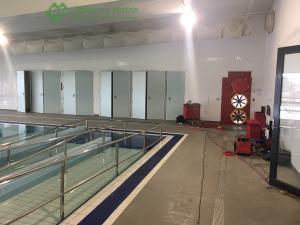 Aquatic Facility air tightness testing