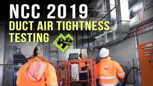 BCA - NNC 2019 - Duct Air Leakage Testing